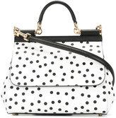 Dolce & Gabbana polka dot Sicily shoulder bag
