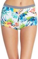 Tommy Bahama Print Boyshort Bikini Bottoms