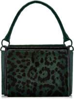 Nancy Gonzalez Radziwill Small Frame Printed Crocodile Top Handle Bag