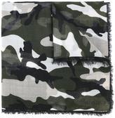 Valentino Garavani Valentino camouflage scarf