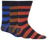 J By Jasper Conran Pack Of Three Assorted Striped Socks