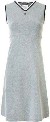 Chanel Pre Owned Sports line stretch A-line dress