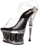 Pleaser USA Women's Spiky-608 Sandal