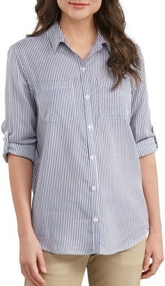 Dickies Women's Relaxed Fit Eco-Friendly Shirt