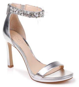 Badgley Mischka Sierra Crystal Ankle Strap Sandal