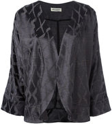 Masscob cropped sleeves jacket - women - Polyamide/Polyester/Viscose - 40