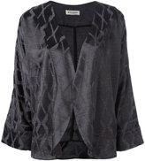 Masscob cropped sleeves jacket