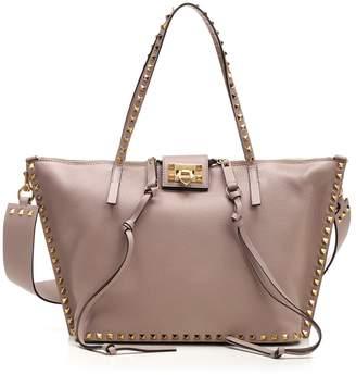 Valentino Garavani Rockstud Top Handle Tote Bag