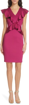 Ted Baker Alair Ruffle Body-Con Dress