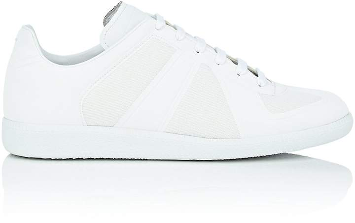 "Maison Margiela Men's ""Replica"" Mesh & TPU Sneakers"