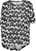 Great Plains Cubist Wave Drape T-Shirt