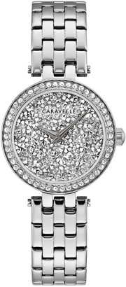 Bulova Caravelle by Women's Crystal Dial Watch