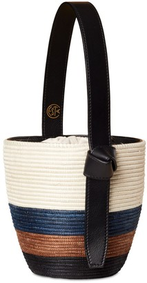 Cesta Collective Tri-stripe Lunchpail Top Handle Bag