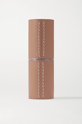 La Bouche Rouge Refillable Leather Case - Camel