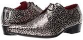 Jeffery West Adamant Love/Hate Arrow Tip Lace Shoe (Leopard) Men's Shoes