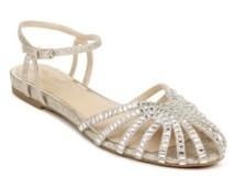 Badgley Mischka Women's Perla Flat Evening Sandal Women's Shoes