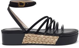 Louise et Cie Bimo Mixed-Material Sandal