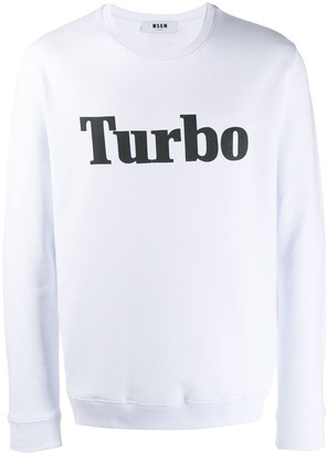 MSGM Turbo sweatshirt