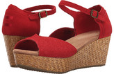 Toms Platform Wedge