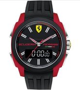 Ferrari Scuderia Mens Watch Black/red - 0830121
