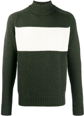 Woolrich Block Panel Jumper