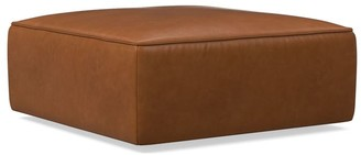west elm Remi Leather Ottoman