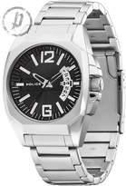 Police Men's PL.12897JS/02M Silver Stainless-Steel Analog Quartz Watch with Dial
