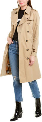 Burberry Kensington Long-Length Heritage Trench Coat