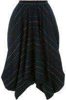 Societe Anonyme striped skirt - women - Wool - 1