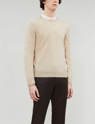 Brunello Cucinelli Crewneck wool and cashmere jumper