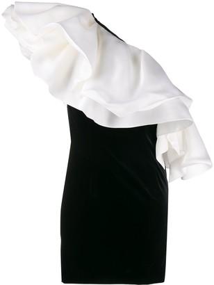 Alexandre Vauthier velvet mini dress