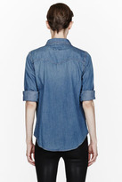 Current/Elliott Blue Camper Western Shirt