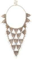 Sole Society Pearl Necklace Bib