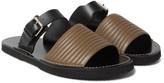 Dries Van Noten - Quilted Leather Slides