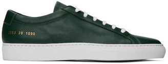 Common Projects Green Achilles Sneakers