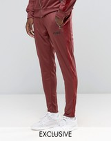 Puma Joggers With Velvet Trim In Tapered Fit Exclusive To ASOS
