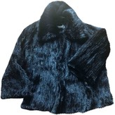 Marella Black Mink Coat for Women
