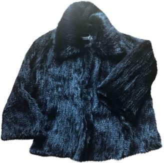 Marella Black Mink Coat for Women