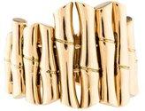 Gucci Graduated Bamboo Band Ring