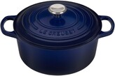 Le Creuset 3 1/2-Quart Signature Round Enamel Cast Iron French/Dutch Oven