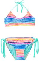 Gossip Girls' Neon Lights Bralette Halter Two Piece Set (7yrs16yrs) - 8138150