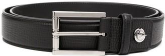 Brioni Textured Leather Belt