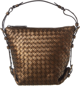 Bottega Veneta Vesuvio Mini Intrecciato Nappa Leather Tote