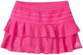 adidas Spin Skort (Toddler/Kid) - Medium Pink - 4