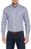 Bobby Jones Men's Kennedy Regular Fit Gingham Sport Shirt
