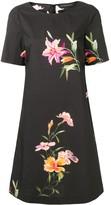 Etro floral print shift dress