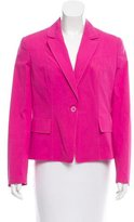 Moschino Cheap & Chic Moschino Cheap and Chic Fitted Notched-Lapel Blazer