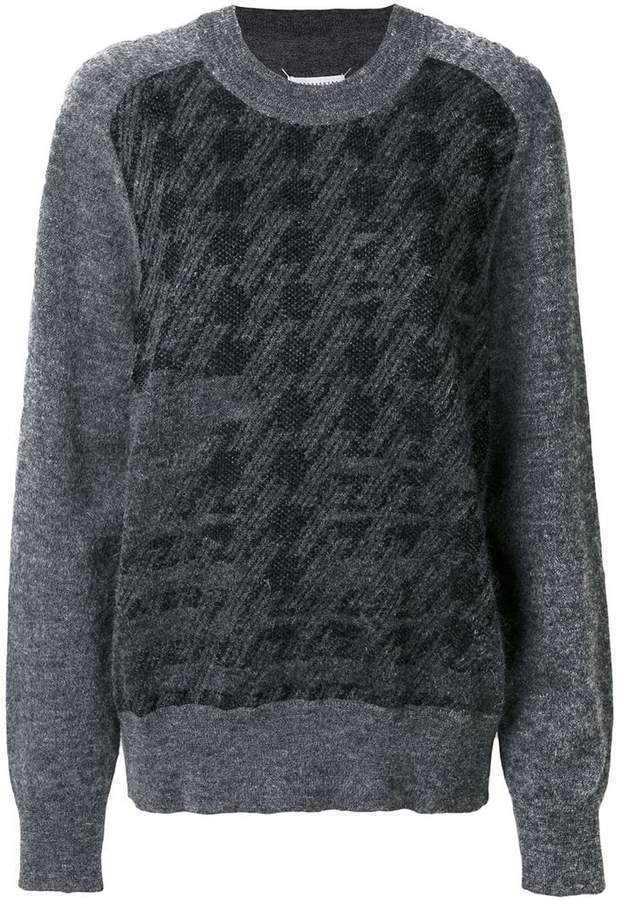 Maison Margiela classic embroidered sweater