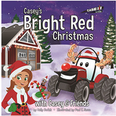 Tomy Casey's Bright Red Christmas Hardcover