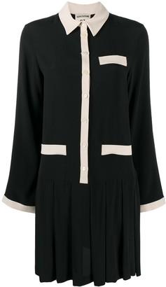Semi-Couture Pleated Shift Dress